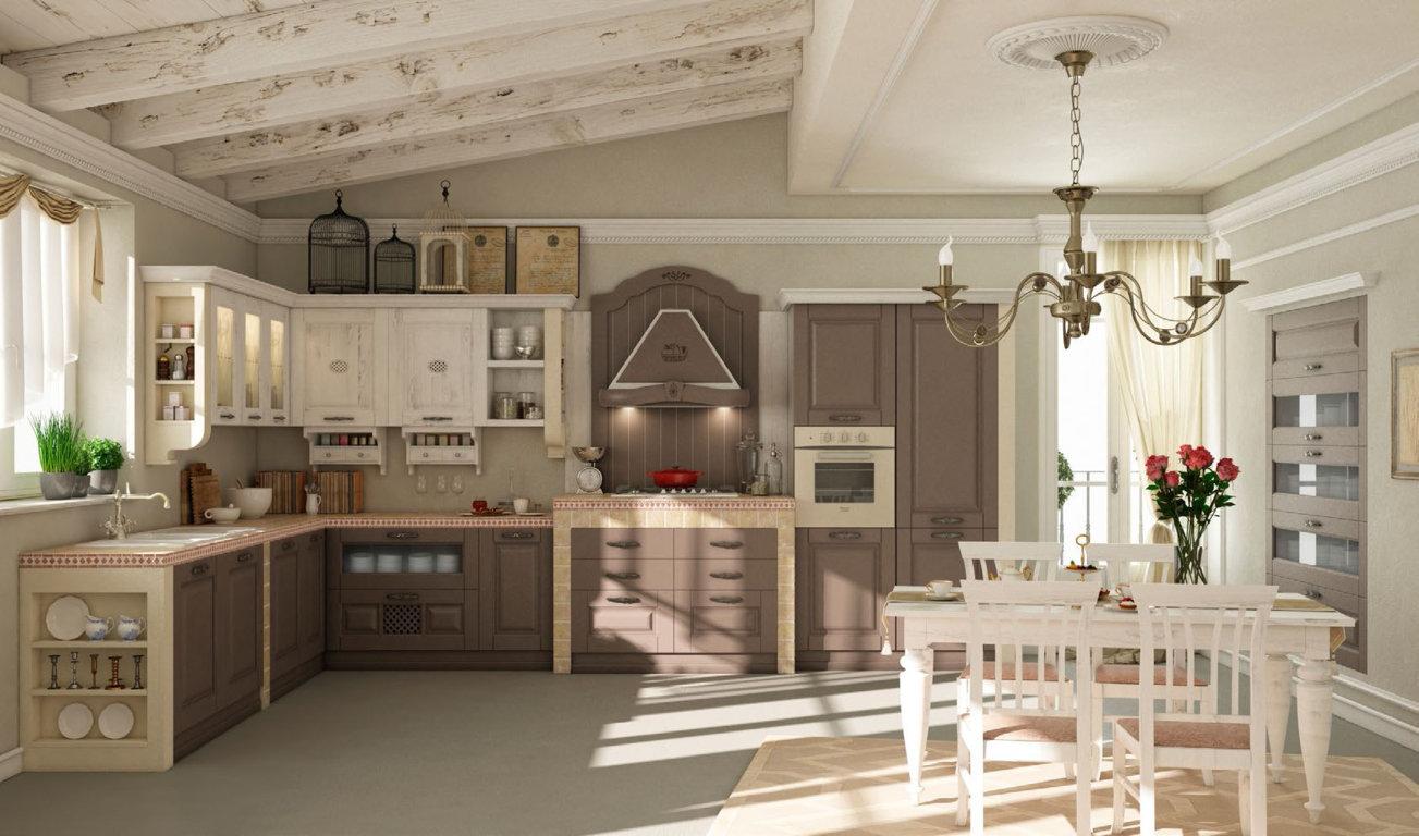 Dione qesem storie di cucine - Aerre cucine classiche ...
